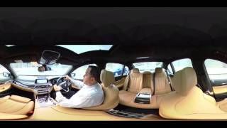 360 Degree Video review of the BMW 7 Series