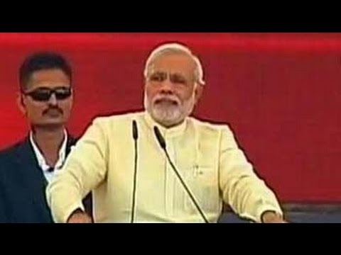 BJP's Mumbai rally: A Narendra Modi show
