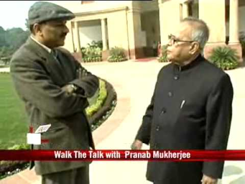 Walk the Talk with Pranab Mukherjee
