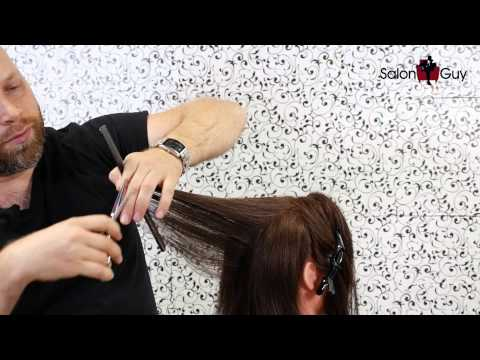 How To Cut and Layer Long Hair Tutorial