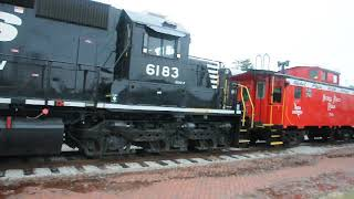 NKP 757 Berkshire Steam Engine - delivered to Bellevue Ohio