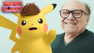 Here's Danny DeVito (as Frank Reynolds) as Detective Pikachu