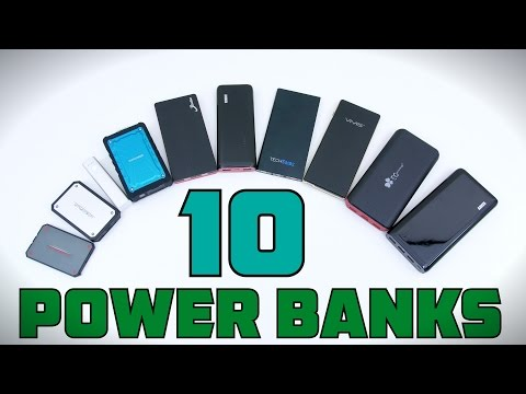 Top 10 Power Banks - 2015