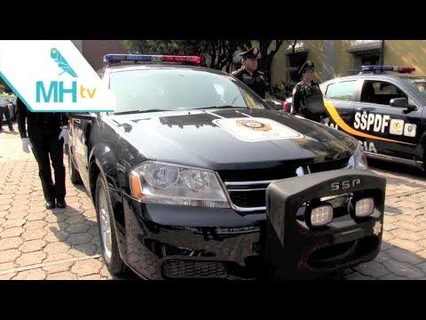 La SSPDF entrega 51 patrullas a Miguel Hidalgo