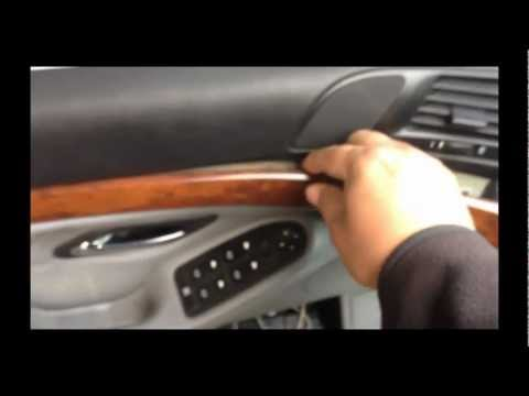 HOW TO REMOVE INTERIOR DASH WOOD TRIM 1997-2000 BMW 5 SERIES E39 528I 525I 530I 540I M5