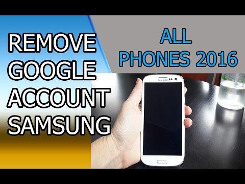 Nuevo método: Eliminar o desbloquear cuenta Google en Samsung J1,J2,J3,J5,J7, NOTE, PRIME.