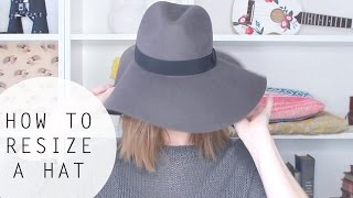 How To Resize a Hat That