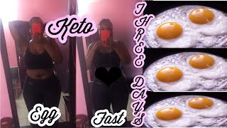 MY 3 DAYS KETO EGG FAST RESULTS | WHAT I ATE TO LOSE WEIGHT ON THE KETOGENIC EGG DIET