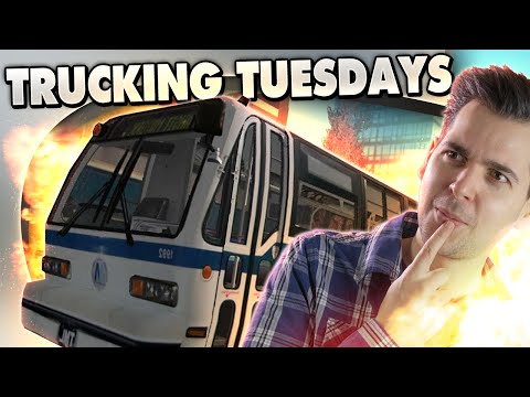 DRUNK DRIVING! - City Bus Sim 2010 - Trucking Tuesday