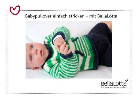 Babypullover Einfach Stricken Stricken Lernen Für Anfänger