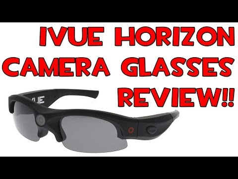 iVUE Horizon 1080P HD Camera Glasses REVIEW #iVUECamera