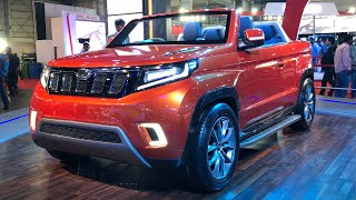 Mahindra Stinger Convertible - Open Top SUV | MotorBeam