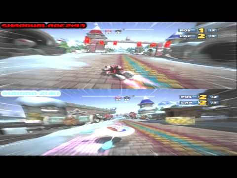 S&SA-SR Online Race - Icicle Valley - Sync Test 1 (PS3) (10/03/2012)