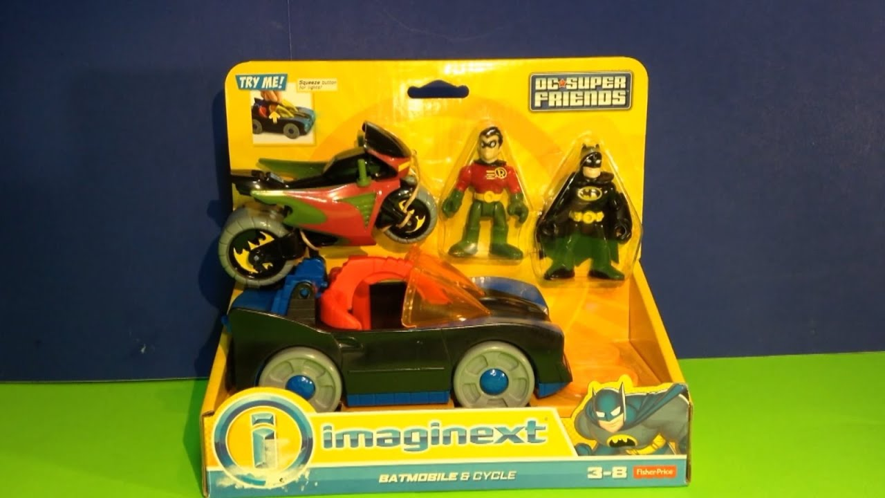 Batmobile Toy Imaginext Batmobile Cycle Toys From