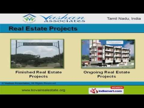 Real Estate Services by Vashan Associates, Coimbatore