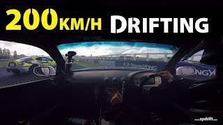 200km/h Drifting @ Pukekohe