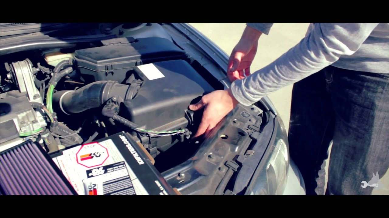 Volvo S60 K amp N Air Filter Replacement YouTube
