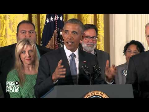 Watch President Obama announce gun control initiatives at White House