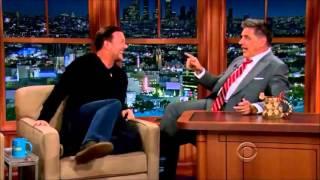 Ricky Gervais on Craig Ferguson - Hilarious Interview