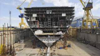 royal caribbean oasis of the seas construction