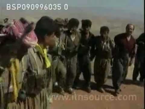 KURDISTAN  SITUATION   Archive Footage   ITN Source