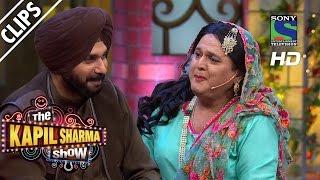 Begum Lucchi Waiting for Sidhu Paji - The Kapil Sharma Show -Episode 21 - 2nd July 2016