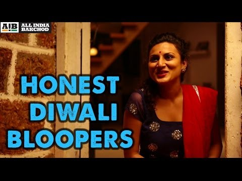 Bloopers: Honest Diwali video