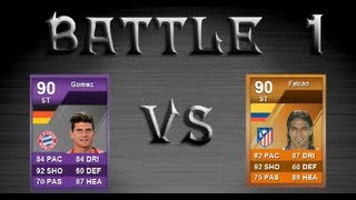 FIFA 12 MOTM MARIO GOMEZ VS MOTM FALCAO Fight Episode 1