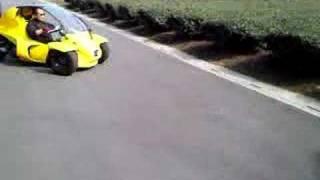 Messerschmitt KR200 & Yellow tricycle
