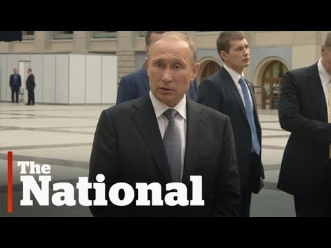 Vladimir Putin's thoughts on Canada
