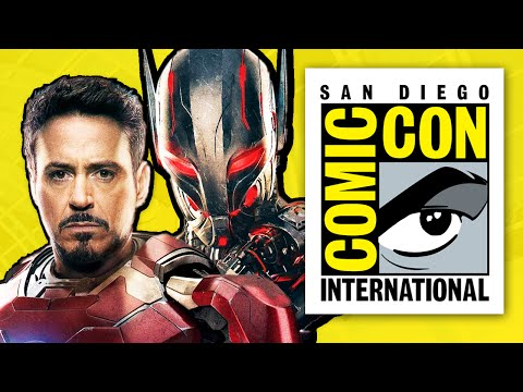 Marvel Avengers 2 Age Of Ultron Comic Con 2014 Preview