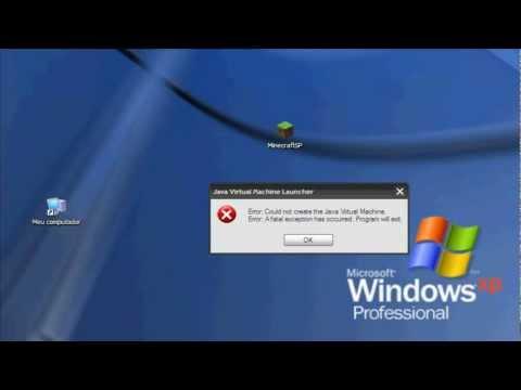 how to fix java machine launcher error minecraft