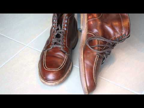 Alden Indy Boots Shoe Review - 405 Chromexcel - 1 Year later