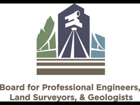 Board for Profesional Engineers, Land Surveyors  and Geologists