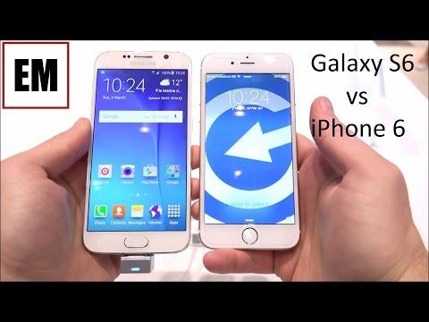 Samsung Galaxy S6 vs Apple iPhone 6 ita anteprima da EsperienzaMobile - MWC 2015