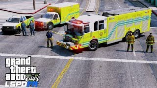 GTA 5 LSPDFR EMS #32   Play As A Paramedic Mod   Miami-Dade Fire & Rescue Ambulance & Supervisor 76.05 MB