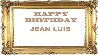 Jean Luis   Birthday Postcards & Postales