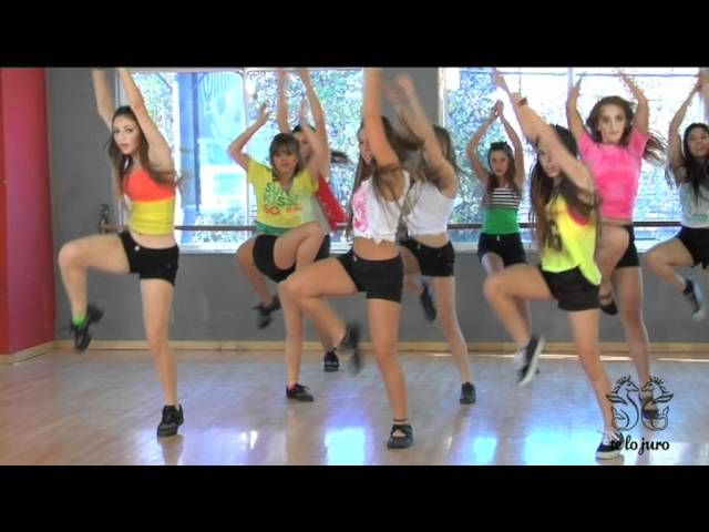 Coreografía de On the floor / TKM Argentina