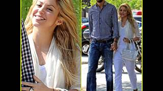 Shakira and Pique....