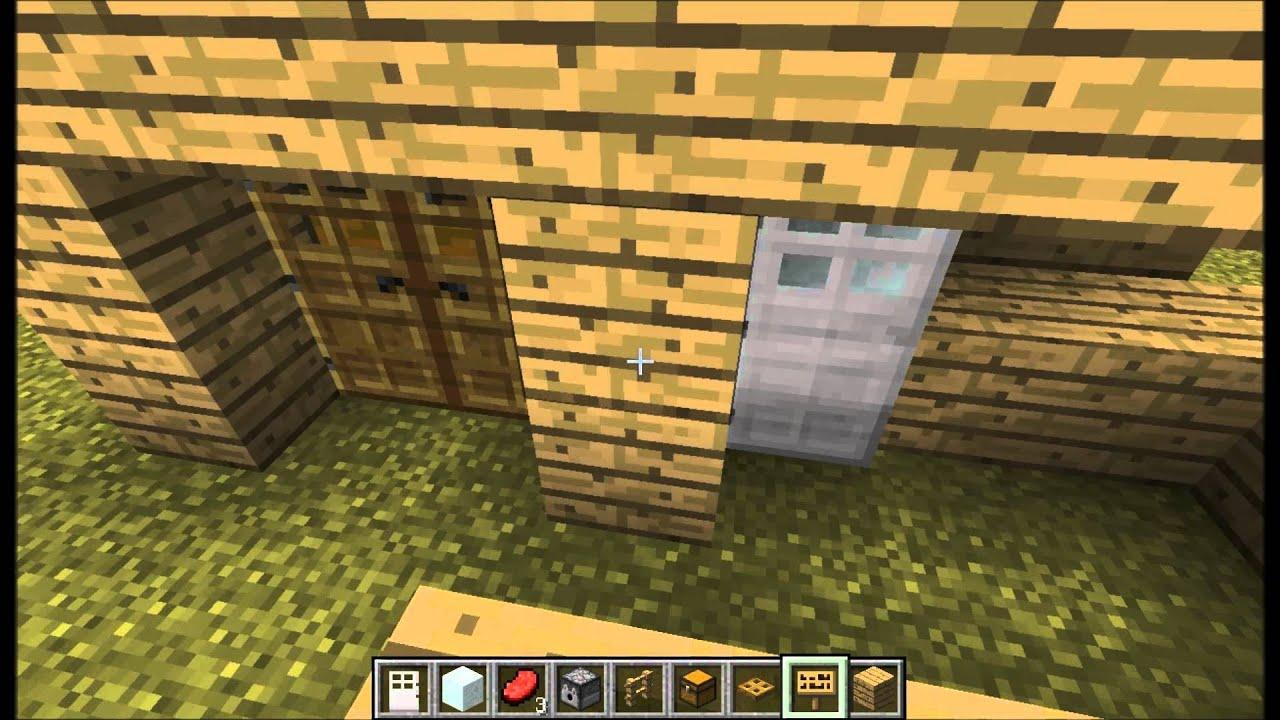 Tuto faire les meuble minecraft youtube for Minecraft meuble