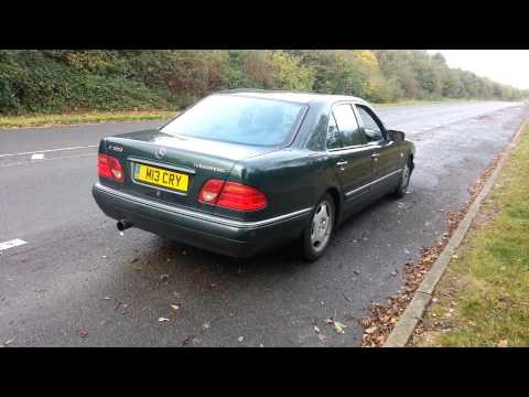 W210 E300 3'' Exhaust OM606