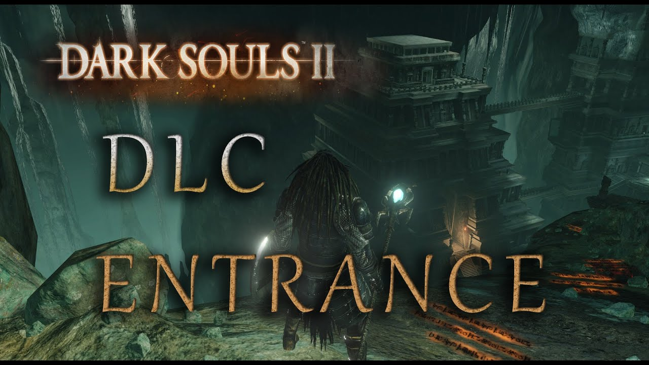 dark souls how to start the dlc