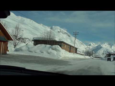 Roadtrip to Valdez Alaska 700 inches of snow!