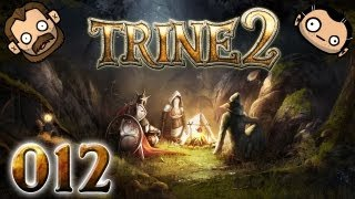 Let's Play Together Trine 2 #012 - Trampolinspringen mit Portals [720p] [deutsch]