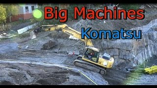 Komatsu Pc 290 Lc Excavator Vs doosan 225 Excavator-Rantaväylän tunneli.
