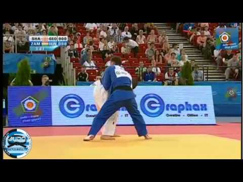 European Judo Championship Budapest 2013 -66kg SHAVDATUASHVILI Lasha GEO) - ZAMBORI Bence (HUN)