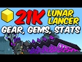 download mp3 dan video My 21k PR Lunar Lancer | Gear, Gems, STATS!