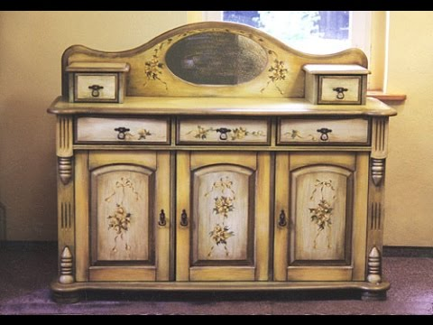 Реставрация кухонного шкафа мастер класс