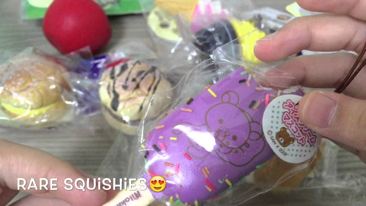 Rare squishies #2 - YouTube