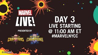 Marvel LIVE from NYCC 2019! | Day 3